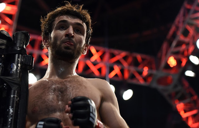 UFC 228 Zabit Magomedsharipov def. Brandon Davis Via Submission