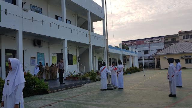 Binmas Polres PKU : Bagi Siswa/i Hati-Hati Menggunakan Medsos