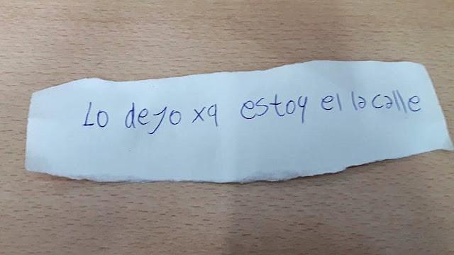 """""""LO DEJO XQ ESTOY EN LA CALLE"""""""