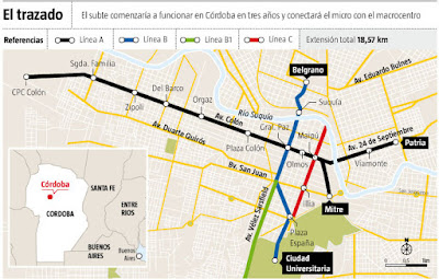 Córdoba debería estar estrenando el subterráneo que quedó en el olvido