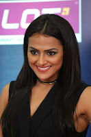 Actress Shraddha Srinath Stills in Black Short Dress at SIIMA Short Film Awards 2017 .COM 0070.JPG