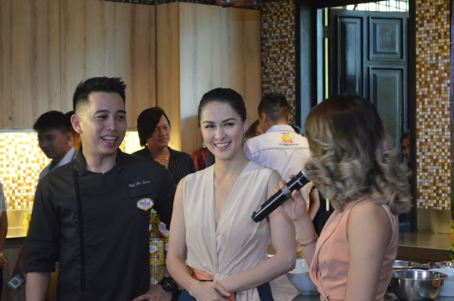 Marian Rivera and Chef Nino Logarta