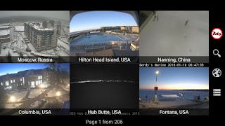 Ứng dụng Android xem Camera trên toàn thế giới