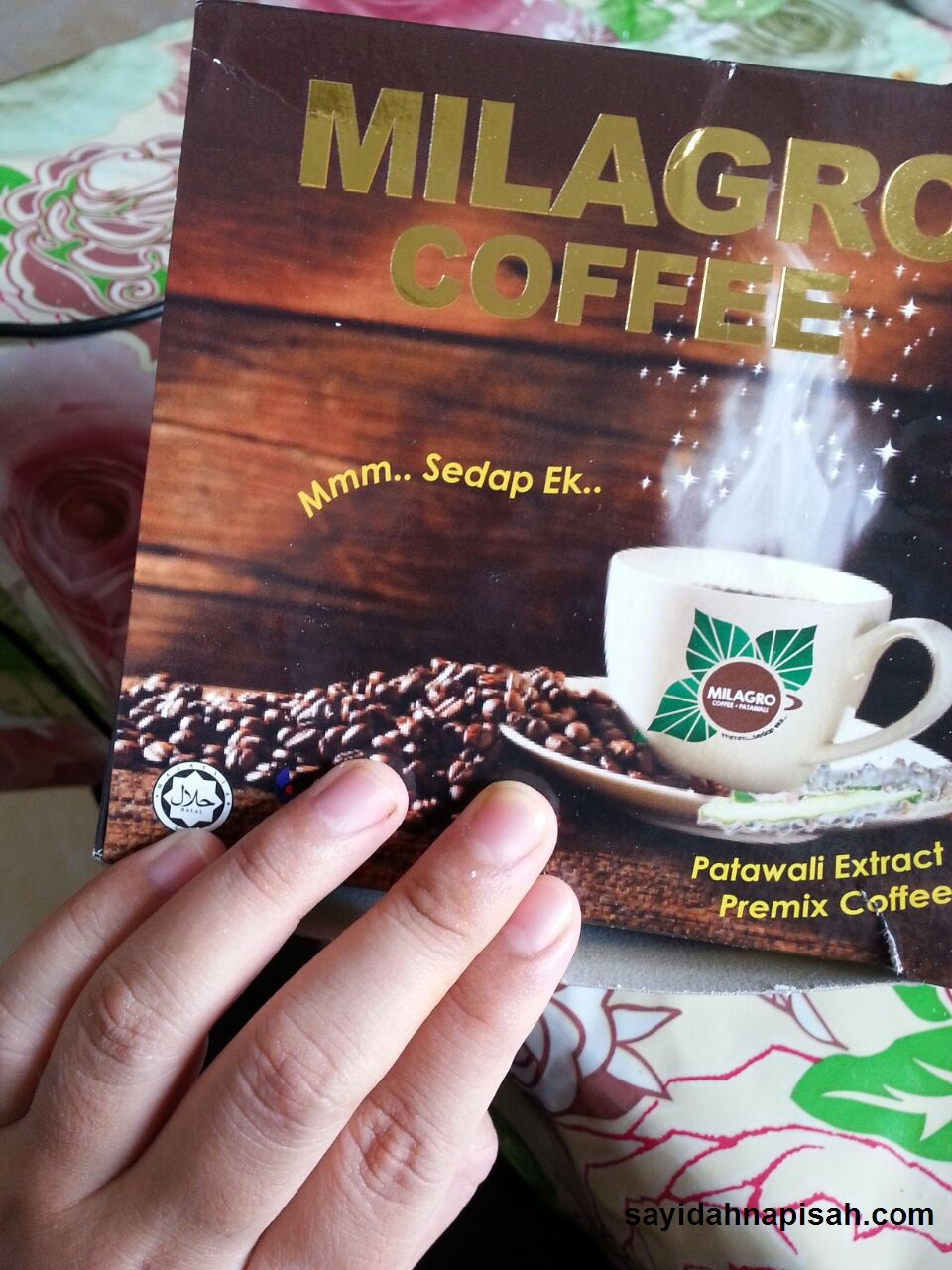 Milagro Coffee Kopi Patawali : Penawar Kencing Manis & Darah Tinggi