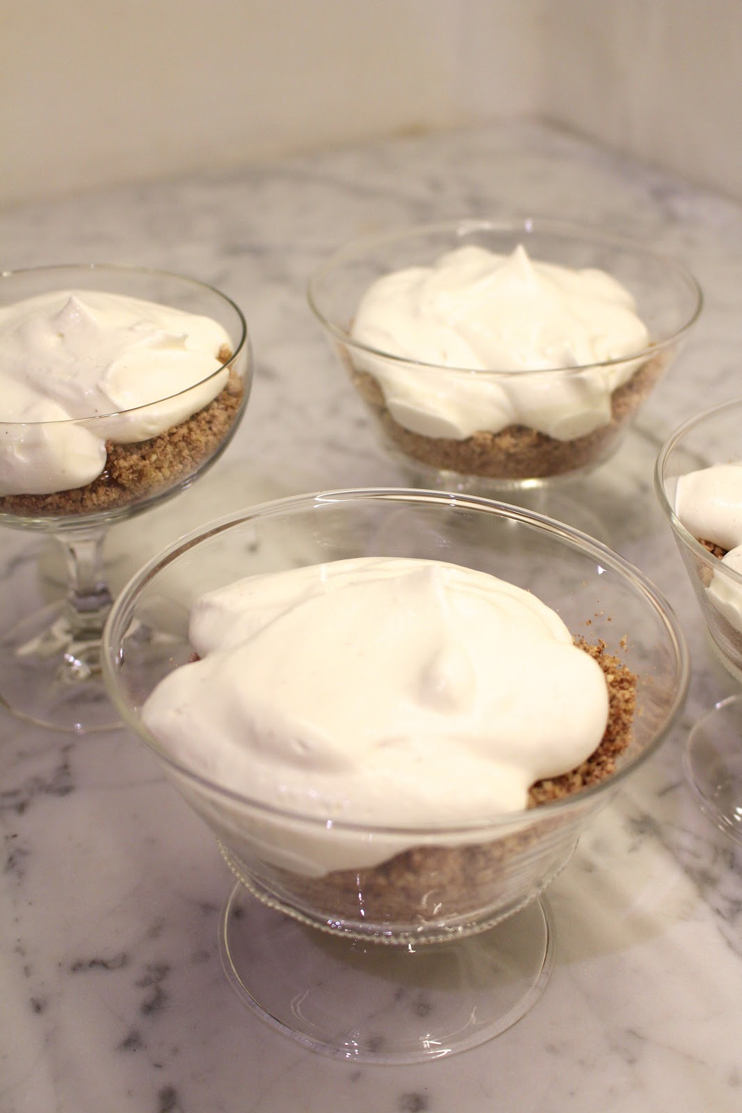 Mont Blanc easy recipe whipped cream chestnuts