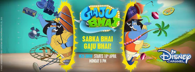 'Gajju Bhai‬' Disnep Channel Upcoming Tv Show Story Wiki,Charactor,Promo,Timing