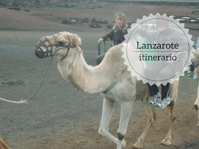 Itinerario di un giorno a Lanzarote