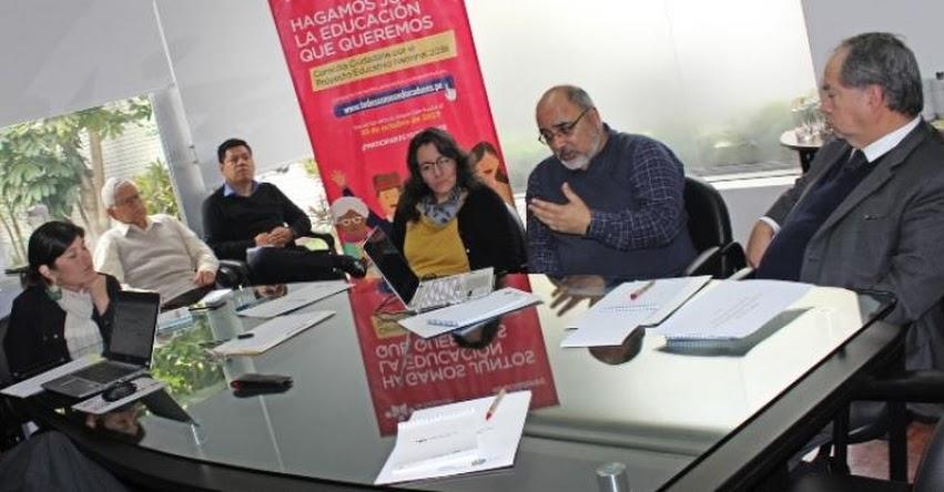 CNE: 15 partidos políticos brindan aportes al Proyecto Educativo Nacional - www.cne.gob.pe