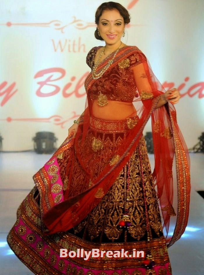 Madhurima Nigam, Amy Billimoria Fashion Show - The Big Fat Fashionable Wedding
