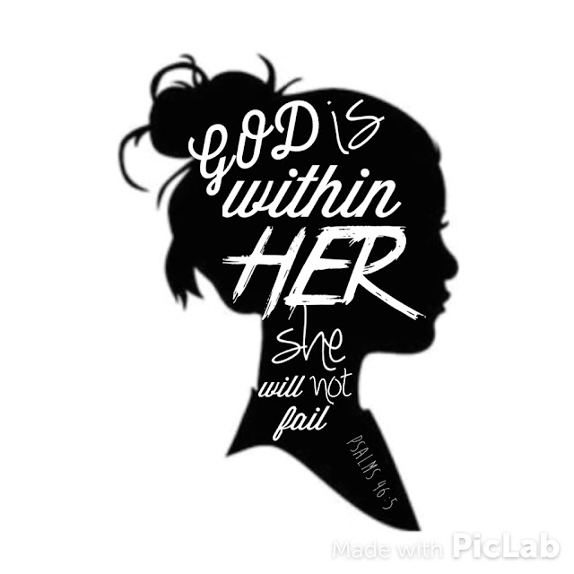 God is Within Her She Will Not Fail Psalm 46:5 free printable