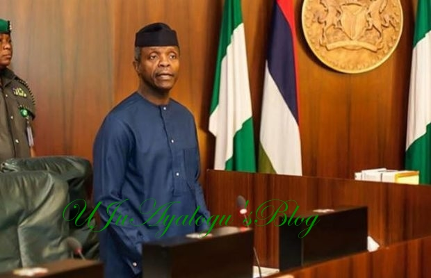 Osinbajo orders reinforcement of security after killing of 33 in Kaduna