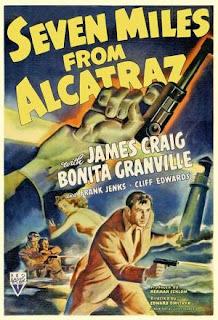 A siete millas de Alcatraz (1942) Accion con James Craig