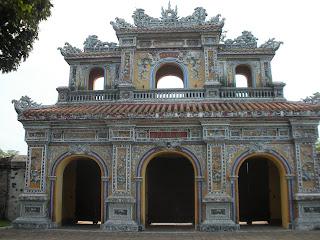 La città di Hue in Vietnam