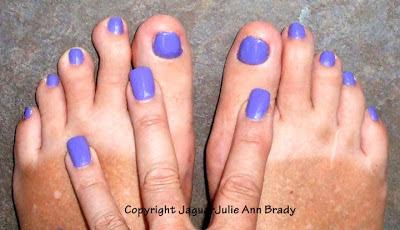 Pucci-licious Color Club Nail Polish Manicure and Pedicure