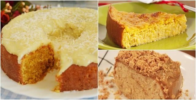 11 bolos que não podem faltar na sua festa junina