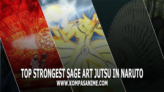 10 Jutsu Sage Mode Terkuat dalam Serial Naruto