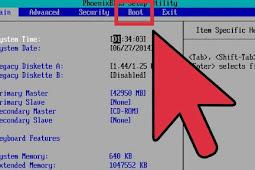 Cara Instal Windows 7 dengan CD dan Flashdisk Lengkap Gambarnya