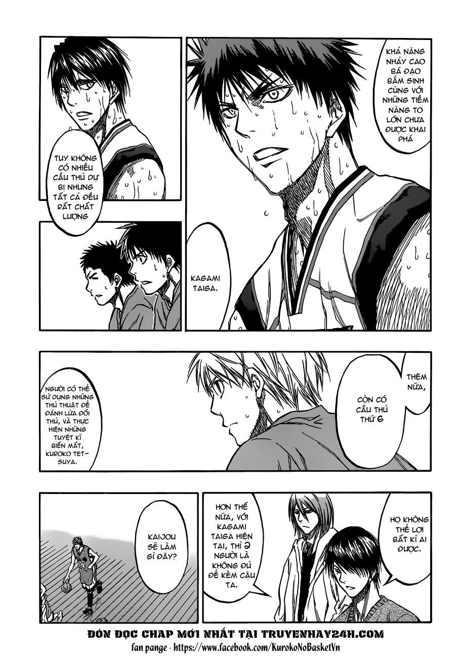 Kuroko No Basket chap 193 trang 9