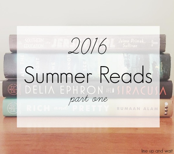 2016 Summer Reads | books | reading | novel | Book of the Month Club