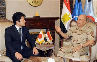 Major General Mahmoud Hijazi meets Japanese Minister of Defense for Military Cooperation