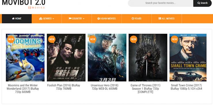 Movibot v2.0 – Automated Movie Downloading Site Maker