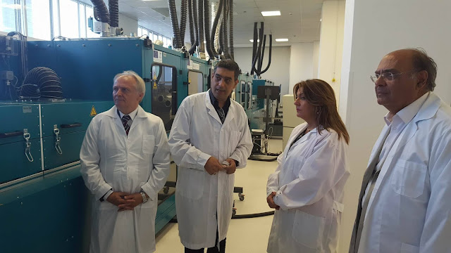 Επίσκεψη Ανδριανού σε Διεθνές Πανεπιστήμιο και Εργαστήριο  Νανοτεχνολογίας