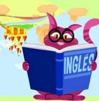 Reino del revés - gato que estudia inglés