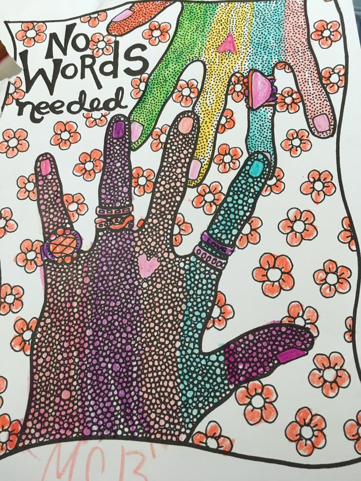 The Peace Love And Understanding Coloring Book