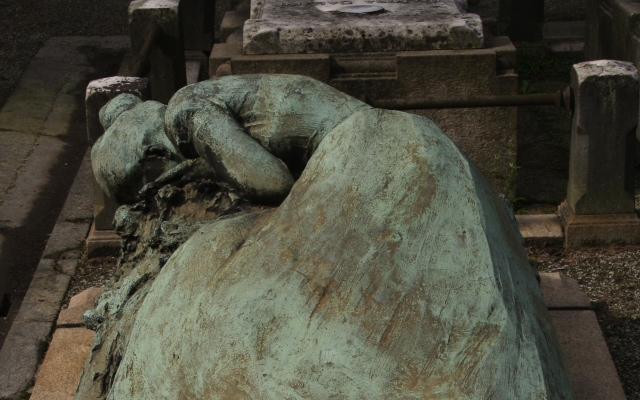 Cementerio Milan Italia viajar aventura