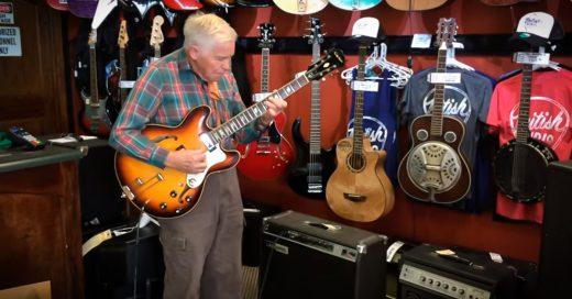 Video: Abuelo de 81 años resulta un increíble guitarrista