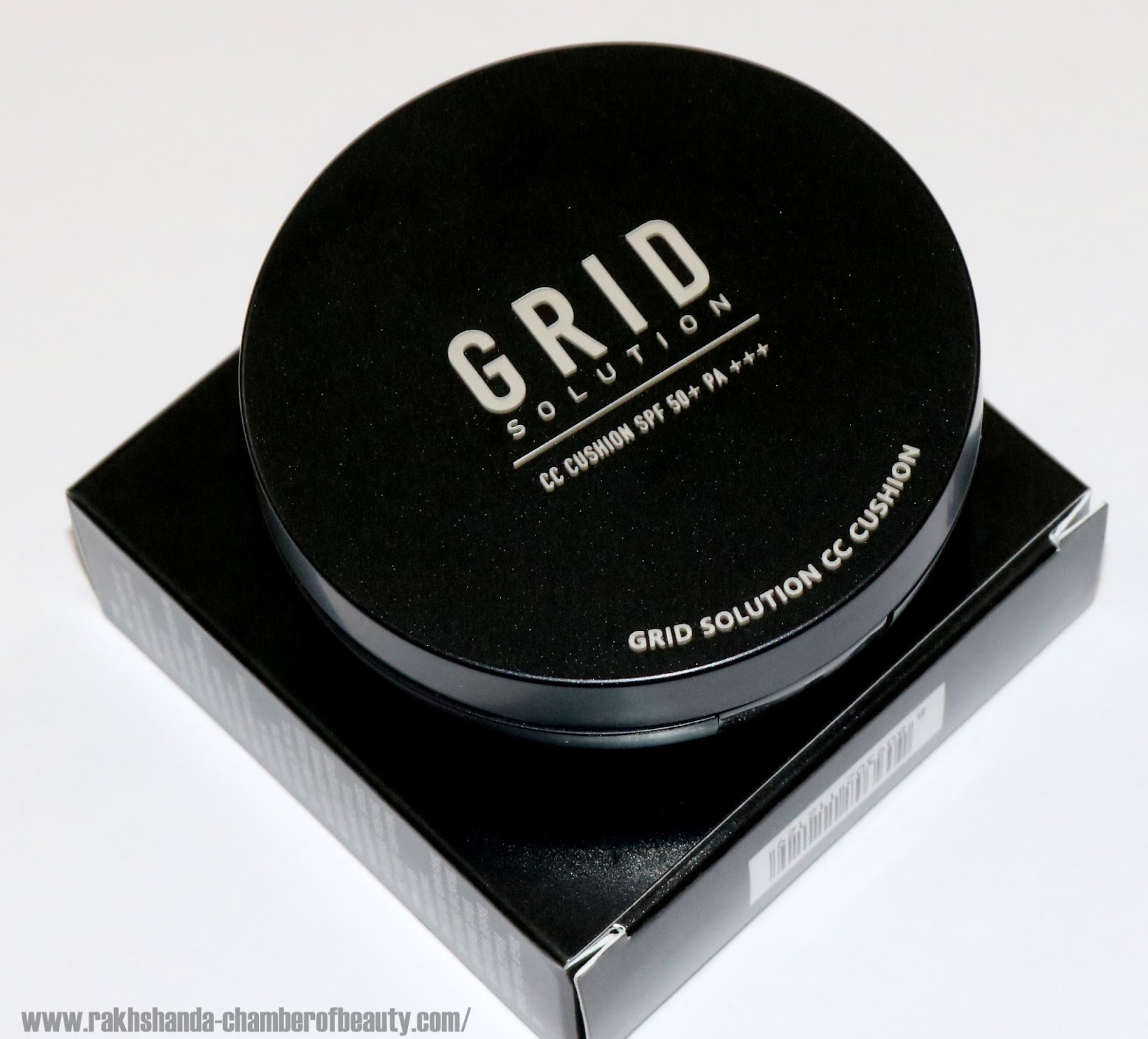 Grid Solution UK CC Cushion Foundation SPF50++/PA+++ - Review & Swatches