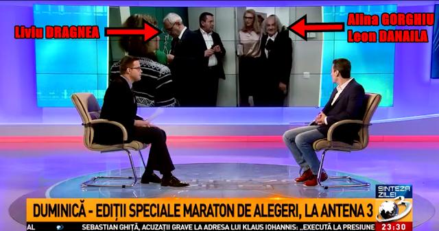 VIDEO Dragnea și Firea refuză să salute și se întorc cu spatele la neurochirurgul Leon Dănăilă, pe holurile Antenei 3