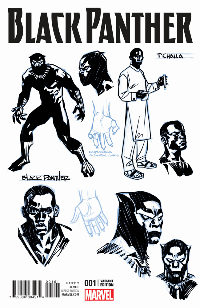 BLACK PANTHER #1 SOOK VARIANT (FEB160743)