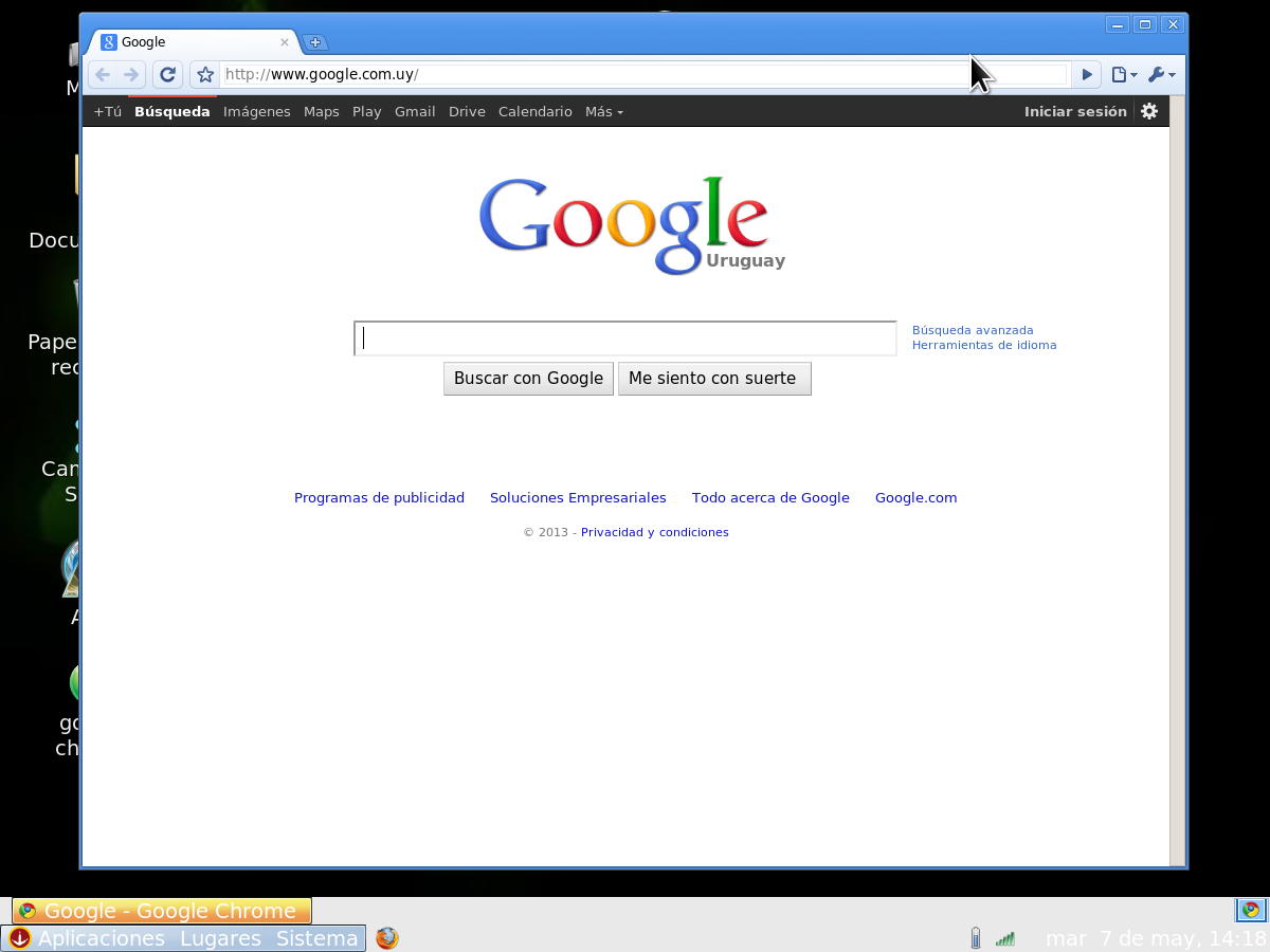 XO Monster Energy: GOOGLE CHROME PARA XO 1.5 (GNOME