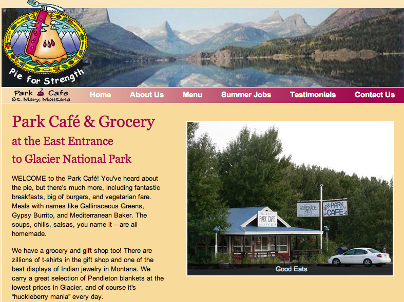 Park Cafe St Mary S Glacier