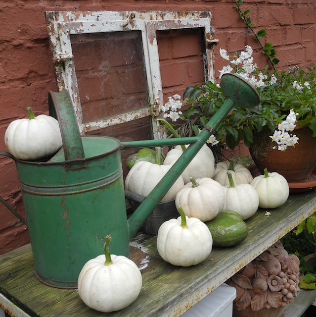 Schmiedegarten artischocke mit k rbis - Herbstdeko kurbis ...