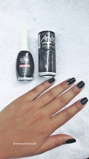 #brumartinsnails#colorama#preto##anita#nails#nailswag#nailsofinstagram#nailstyle#nailstagram#nail#nailsalon#nails2inspire#nailsoftheday#naildesign#instanails#nailsart#nailsonfleek#manicure#nailsdesign#nailstylist#nailspage#lovevidrinhos