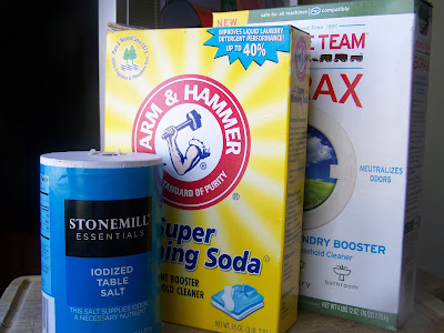 Ingredients for homemade dishwasher detergent