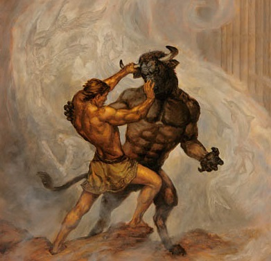el mito del minotauro