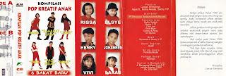 album kompilasi pop kreatif anak 6 bakat baru http://www.sampulkasetanak.blogspot.co.id