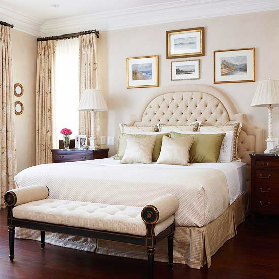 Bedroom design ideas decorating above your bed driven - Over the bed art ...