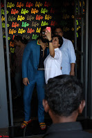 Ranveer Singh in Blue Blazer Spotted Life Bar ~  Exclusive 15.JPG