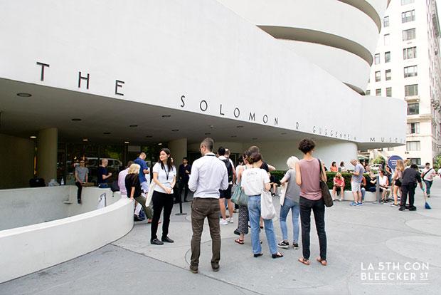 Museo de arte Guggenheim Nueva York entrada