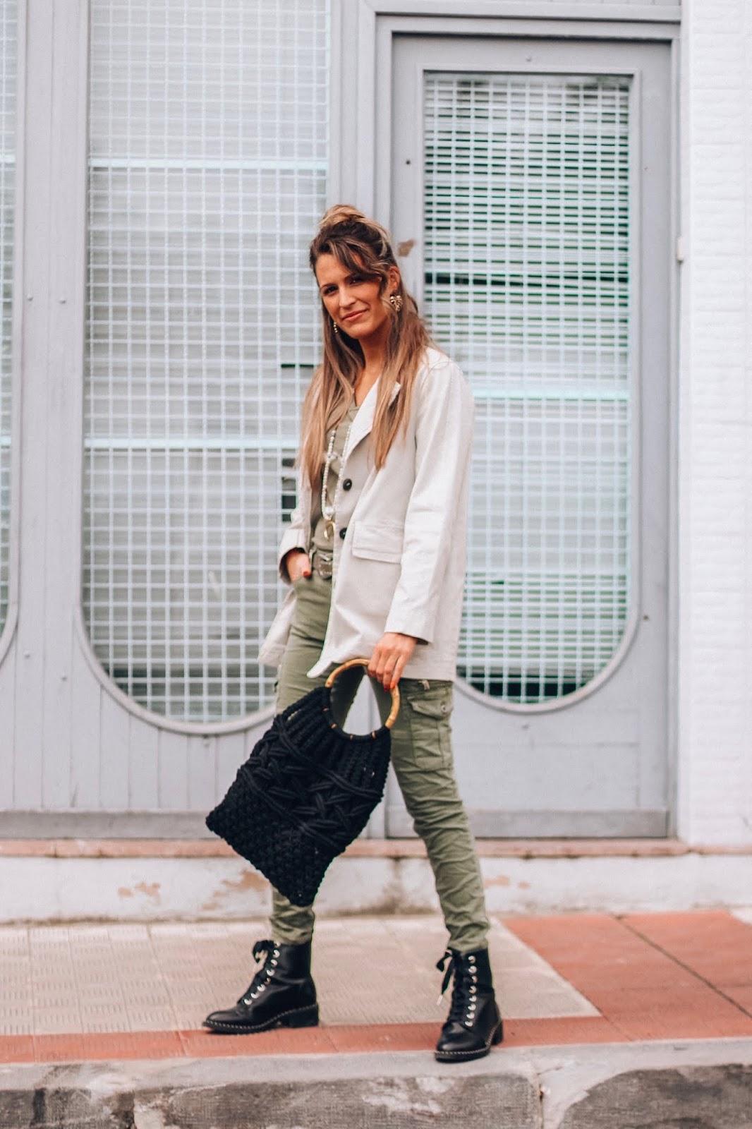 outfit estilo cargo