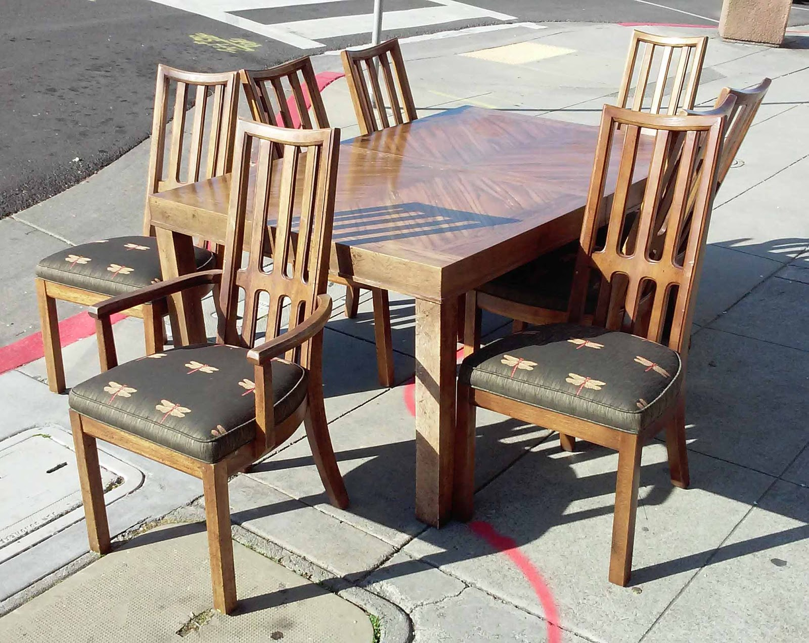 Uhuru furniture collectibles sold reduced dragonfly for Reduced furniture