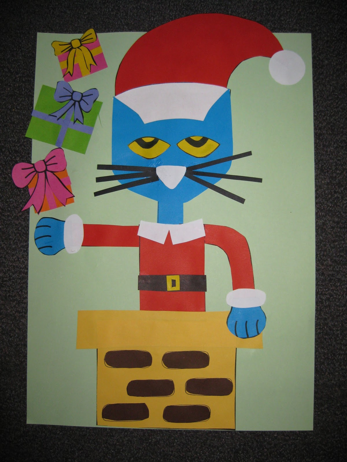 Pete The Cat Christmas.Classroom Fun Pete The Cat Saves Christmas