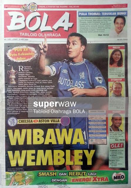 Tabloid BOLA: WIBAWA WEMBLEY