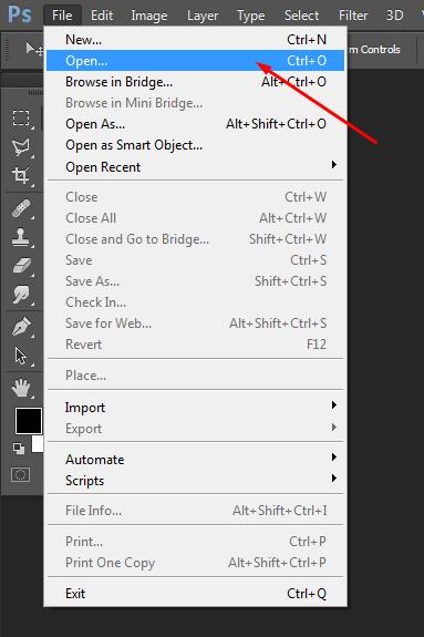 Cara Memotong Gambar Pada Photoshop