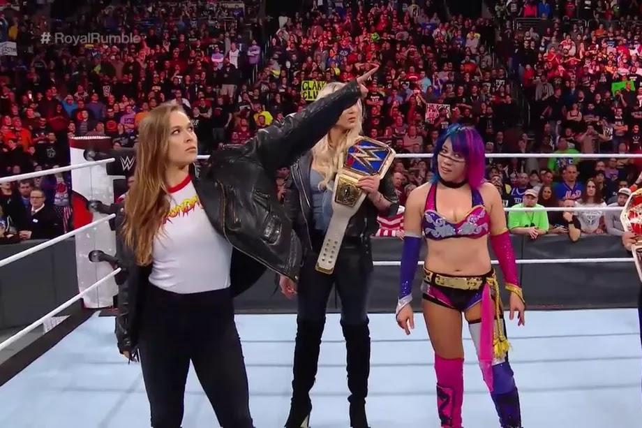 Ronda Rousey WrestleMania 34    StrengthFighter.com