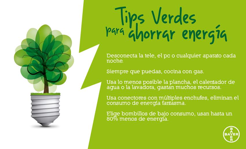 M xima raz n oficial ideas como ahorrar energ a para - Como ahorrar agua y luz ...